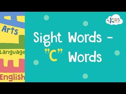 Sight Words -