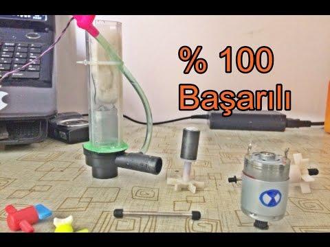 Akvaryum İç Filtre Yapımı - Internal Motor