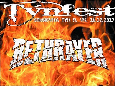 Bethrayer at Týnfest, Sokolovna  Týn nad Vltavou, 16 12 2017