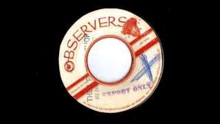 Niney & The Observers ‎- Blood & Fire / Version