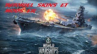 Installer des skins et autres sur World Of Warship - Tutoriel FR