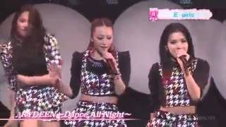 They are Japanese girl, J-pop. vocal & dance group「E-girls」 Song ...