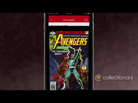 Intro to Collectionary -- A better app for Comic Book Collectors