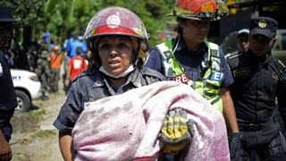 Guatemala mudslide leaves hundreds missing