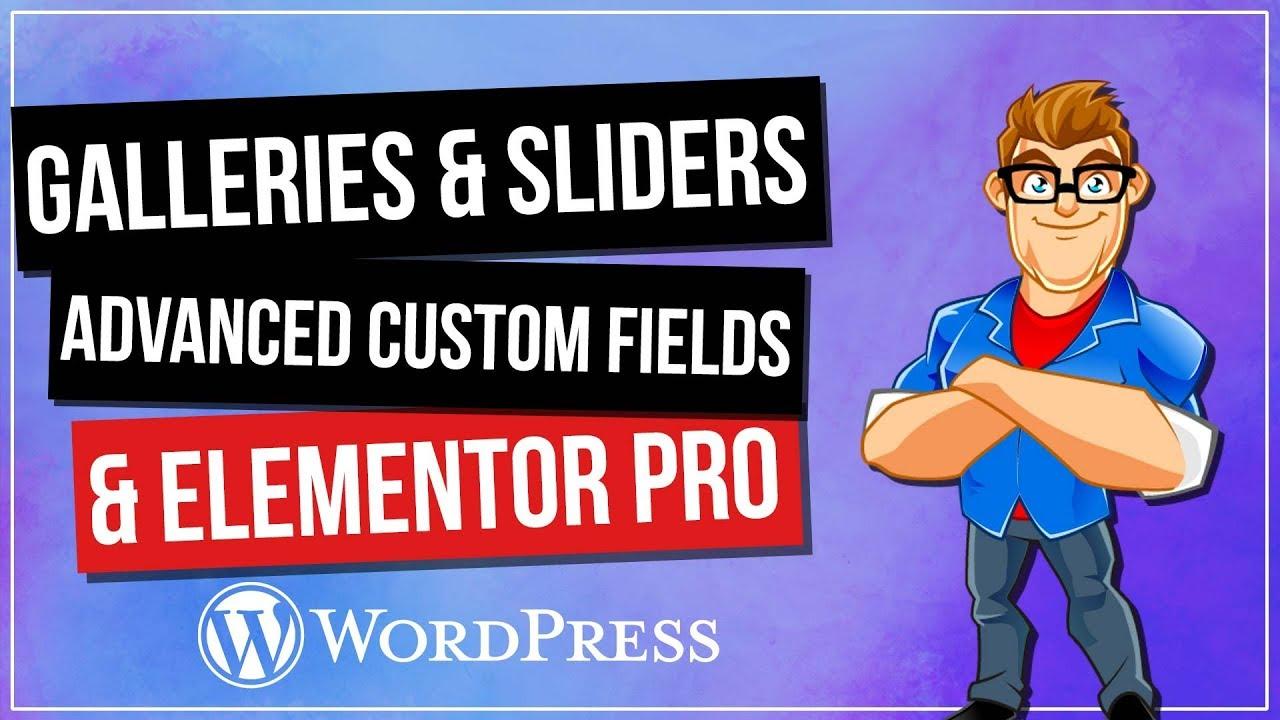 Advanced Custom Fields Elementor (ACF) - Dynamic Content for Elementor