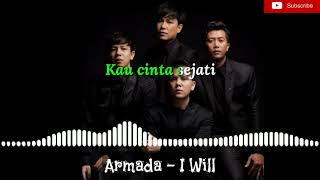 Single Terbaru Armada band - I will {lirik}