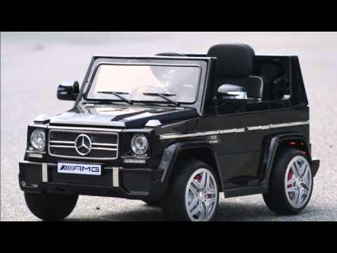 mercedes g65 amg 12 volts voiture electrique pour enfant youtube. Black Bedroom Furniture Sets. Home Design Ideas