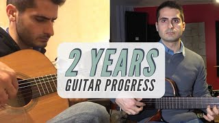 2 Years Guitar Progress (Motivational Video) - Flamenco Edition - Classical Guitar