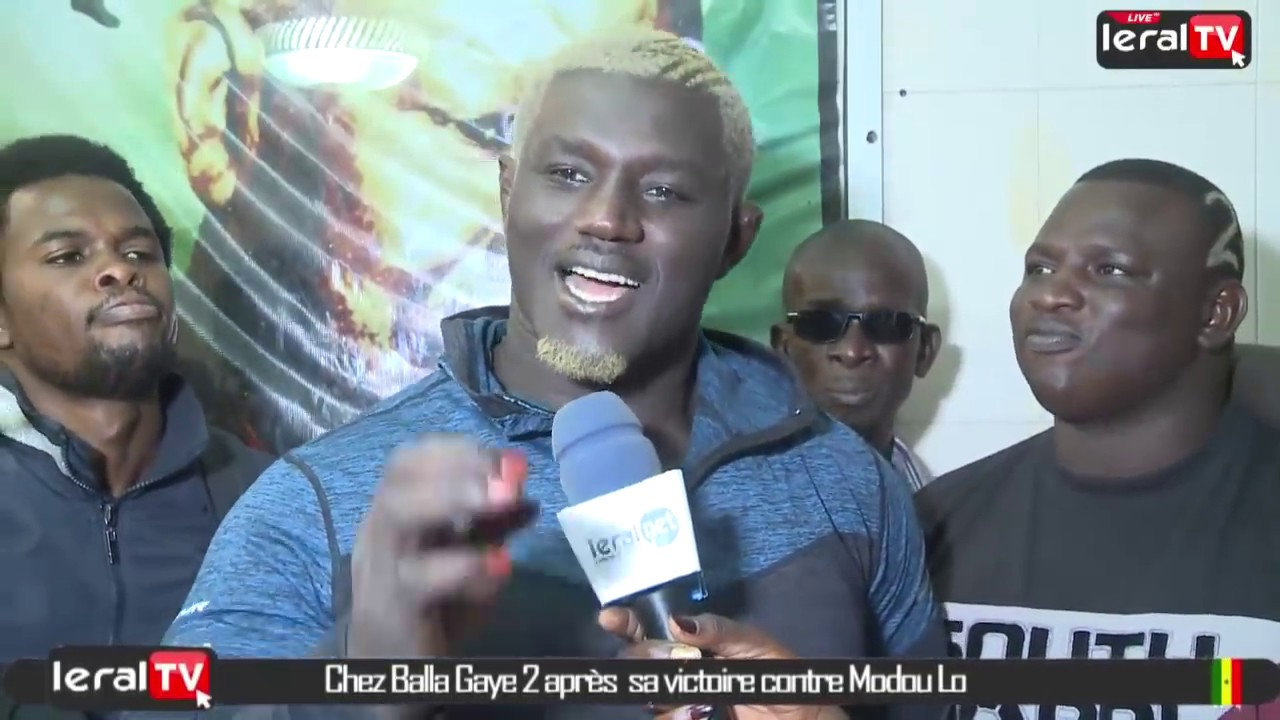 "Balla Gaye 2 : ""J'ai battu Modou Lô techniquement""!"