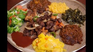 How to make an Ethiopian feast in 13 minutes
