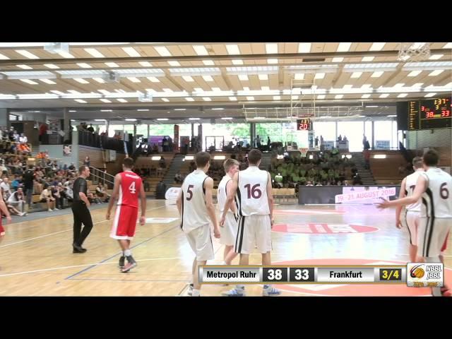 JBBL TOP4 Halbfinale 2016: Metropol Baskets Ruhr vs. Eintracht Frankfurt (51:55)