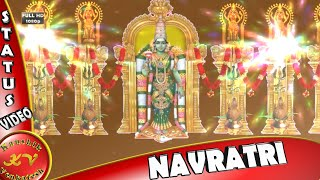 Happy Navratri Wishes, Greetings, Whatsapp Video