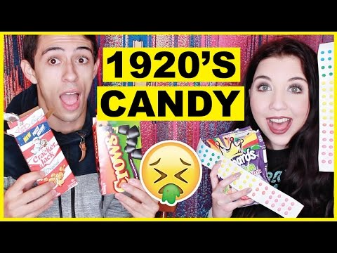 Trying GROSS Candy From The 1920s