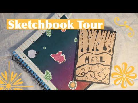 Sketchbook Tour:)