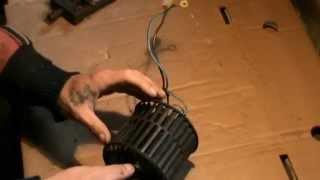 Неудачный ремонт моторчика печки ВАЗ