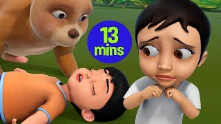 The Bear and Two Friends Story | Telugu Stories for Kids | Infobells