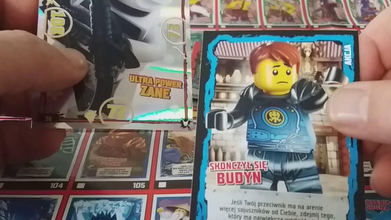 Karty Lego Ninjago Seria 3 Youtube