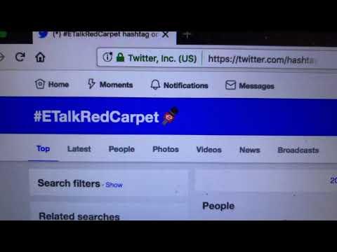 """Zennie62 Joins """"Fit Your Style"""" #EtalkRedCarpet 91st Oscars #Oscars"""