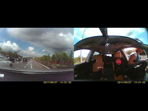 DASHCAM VIDEO CAR ACCIDENT ALLSTATE CLAIM