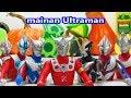 Ultraman Born of vegetables mainan Ginga Zero Tiga Taro Victory Leo Seven Mebius