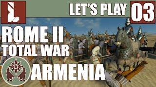 Najazd szarej hordy | Zagrajmy w Rome 2 Total War | Armenia | 03