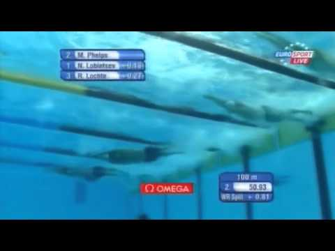 Men's 200m Freestyle  Final - World's Swimming Championship Shanghai 2011