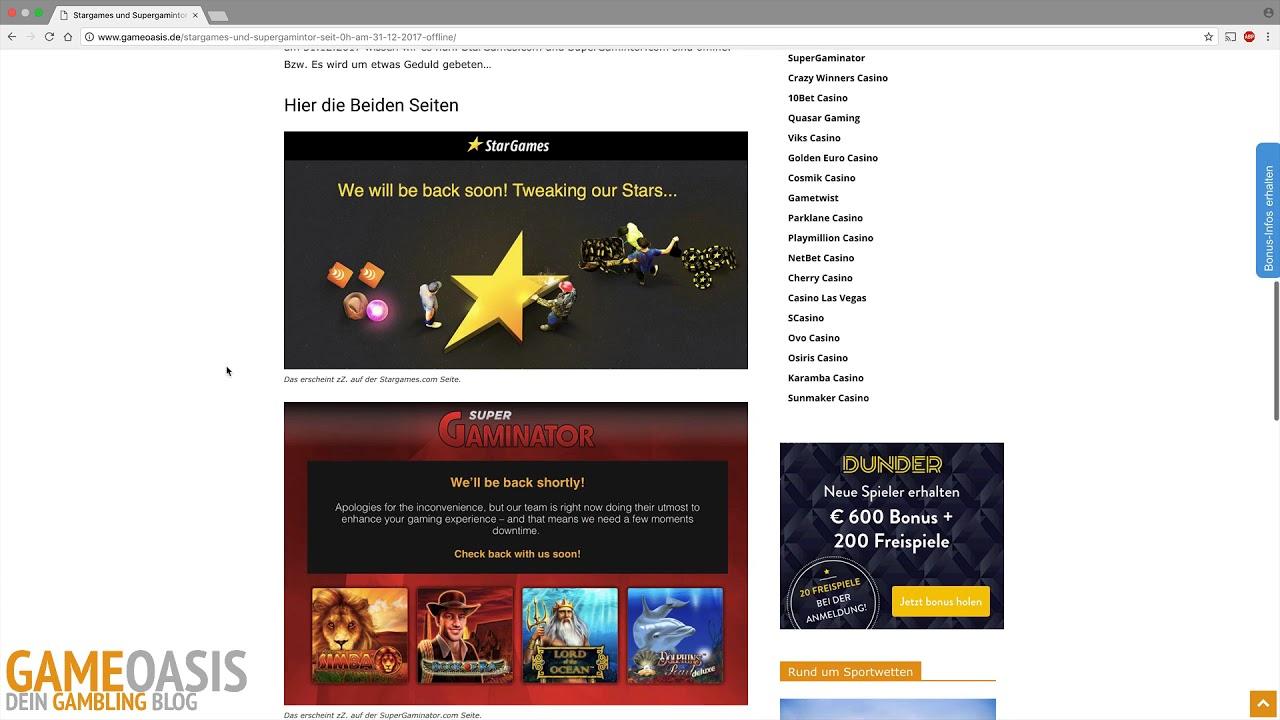 Stargames Offline