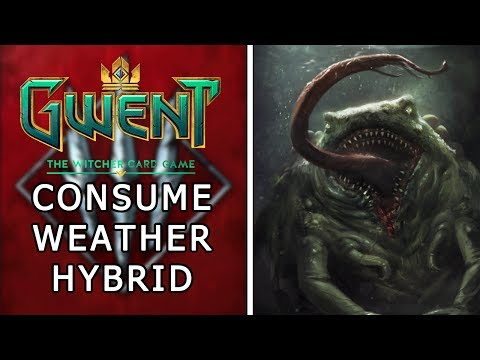 Gwent | Ranked Monsters Deck Guide | Consume Weather Hybrid