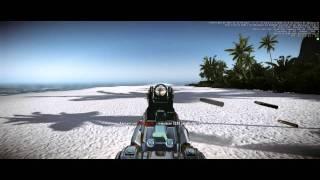 MOD Crysis 2 - New sounds and skin SCAR (rGOt)