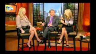 jessica capshaw on live with regis kelly oct 17 2011