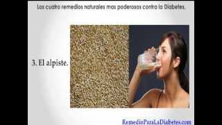 Remedio Para Diabetes.(Los 4 remedios mas poderosos)