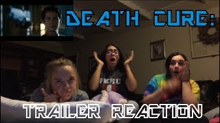 """Reaction to """"Maze Runner: Death Cure"""" Trailer!!"""