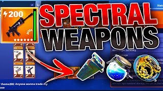 NEW 'SPECTRAL' Weapons & Zone! | Spectrolite Ore & Rainbow Crystals! | Fortnite Save the World