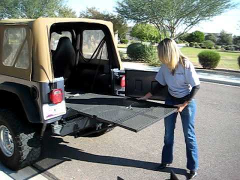 Crewbed Jeep Gate Youtube