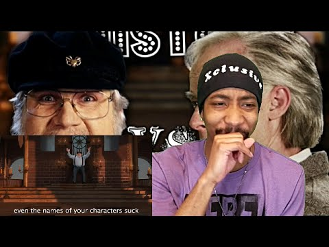 J. R. R. Tolkien vs George R. R. Martin. Epic Rap Battles of History. Season 5 Reaction