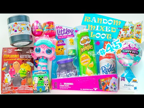 Random And Mixed Loot Opening Surprise Blind Bag Toys Unboxing #45