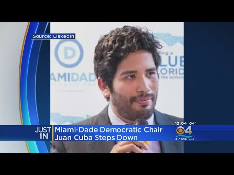 Miami-Dade Dem Chair Steps Down