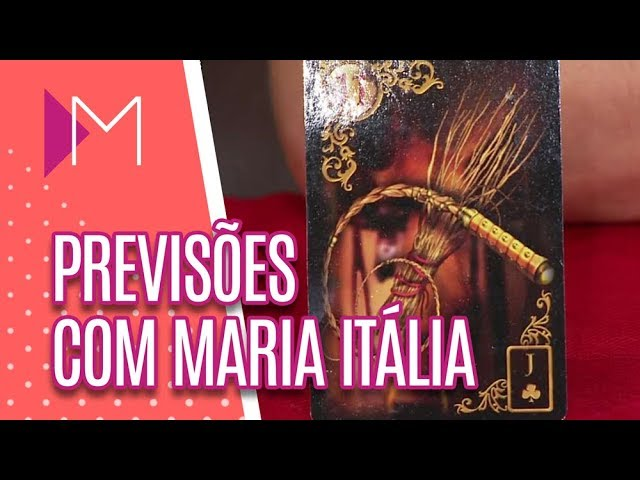 Previsões com Maria Itália - Mulheres (27/03/19)