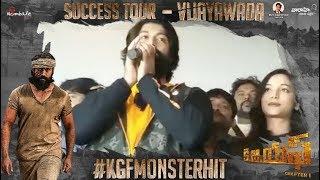 KGF Success Tour - Vijayawada - Yash, Srinidhi Shetty, Prashanth Neel