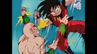 Goku si toglie i pesi contro Tensing •Dragon Ball ep.140• ITALIANO