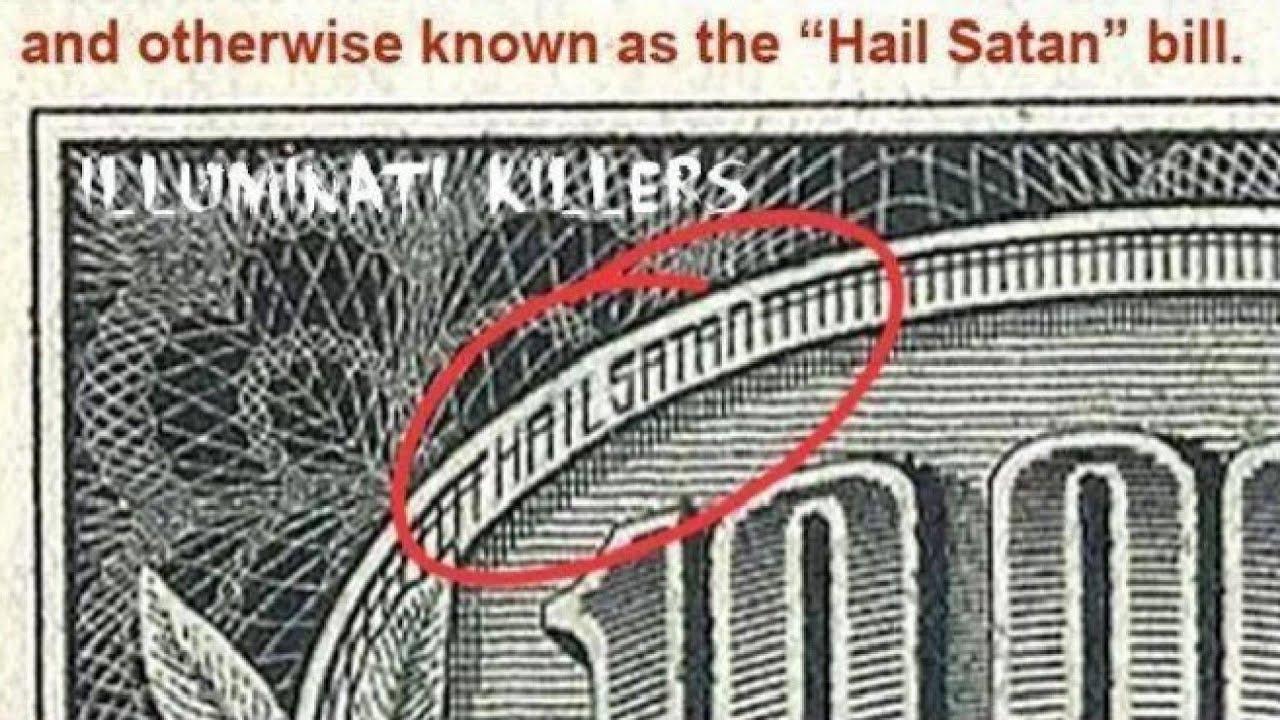 10 000 Bill Subliminal Message Says Quot Hail Satan Quot Youtube