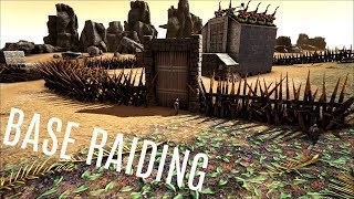 3 MAN RAIDING!  Alpha Griefing - Official PVP (E14) - ARK Survival