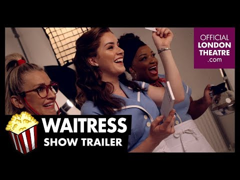Behind the Scenes with the New Cast of Waitress - YouTube