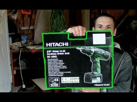 Шуруповёрт Hitachi DS 14DCL(Cordless Screwdriver Hitachi DS 14DCL)