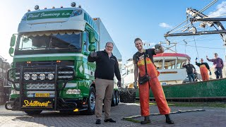 Mosselen rijden met de DAF XF105 van Paul Imming from Harlingen to Yerseke!