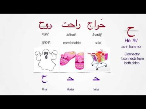 Persian Alphabet- Lesson 4 | Letters  Jim - Khe