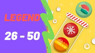 Bubble Sort Color Puzzle Game All Legend Levels 26-50 Walkthrough