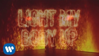 david guetta feat nicki minaj lil wayne light my body up lyric video