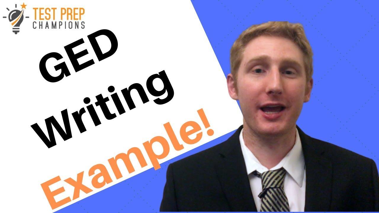 Help ged essay