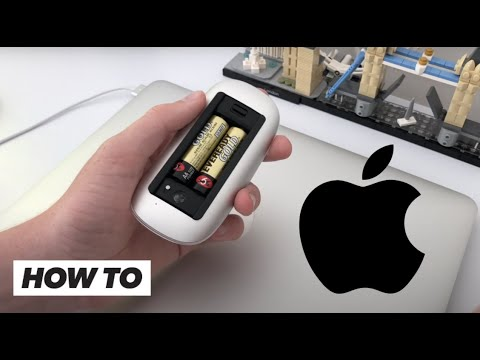 How To Put Batteries In A Magic Mouse